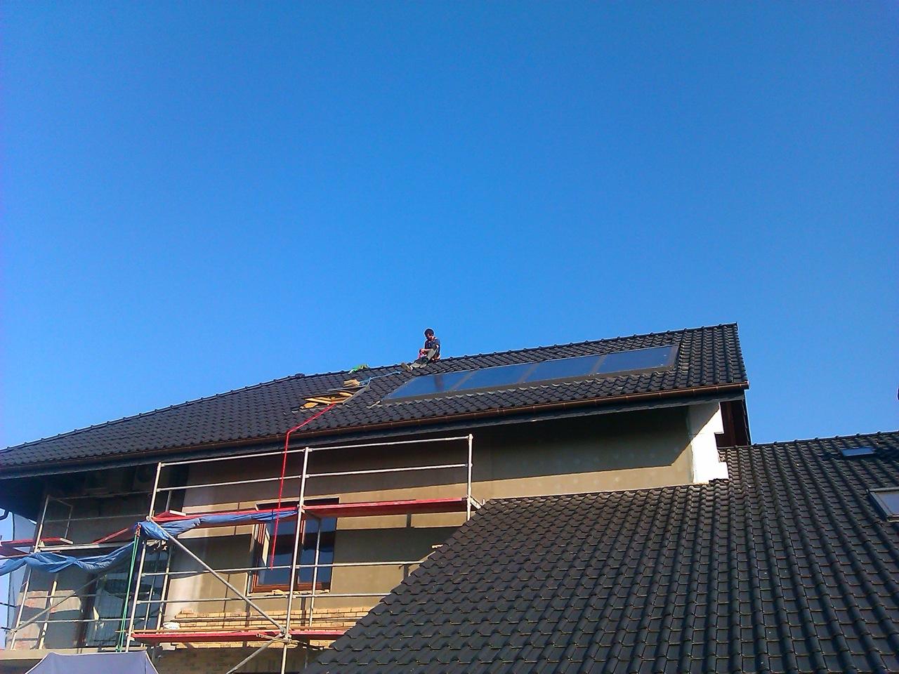 słoneczne Rotex w systemie drain back OWK czyli HVAC po polsku #0365C8