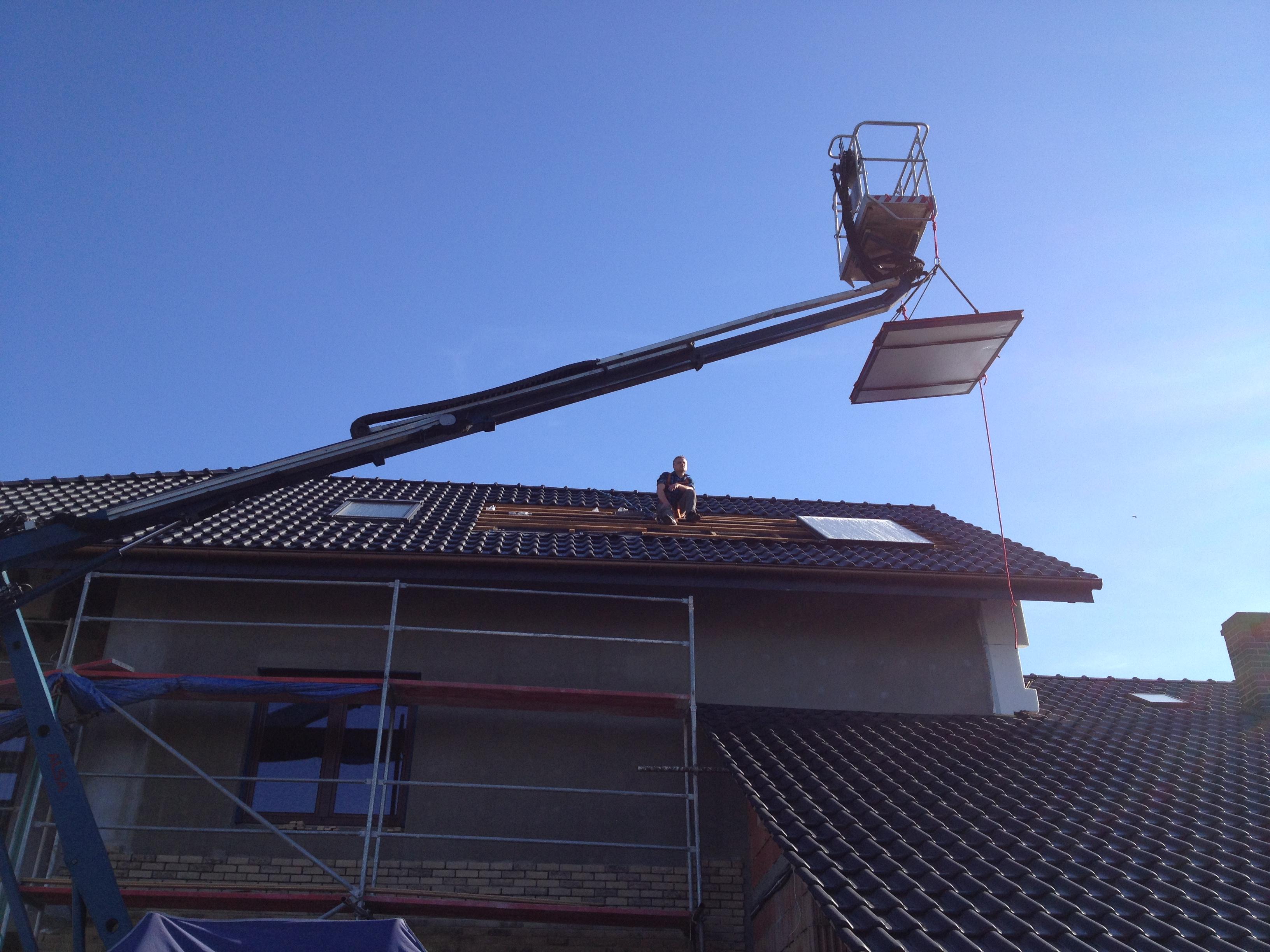 słoneczne Rotex w systemie drain back OWK czyli HVAC po polsku #0263C9