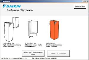 Daikin configurator