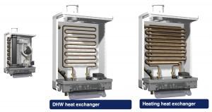 Altherma hybryda 2 wymienniki ciepła