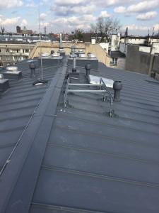 Przygotowanie dachu pod pompę ciepła VRV